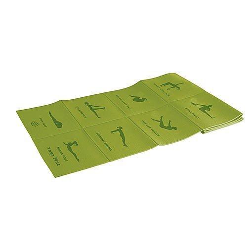 Коврик для йоги складной Lite Weights 5455LW (Салатный)