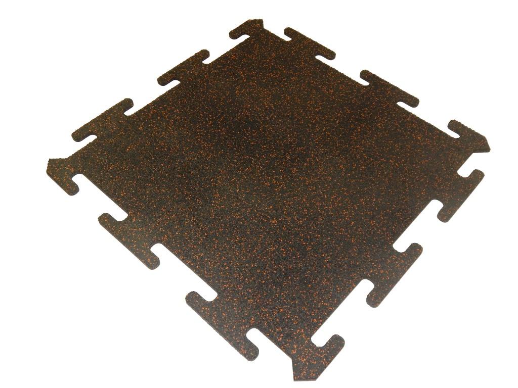 Резиновая плитка EvroPlit Rubblex Puzzle Mix 30%